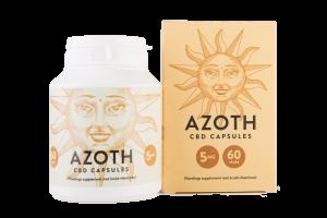Azoth 2% Pure CBD Capsules 60 st.