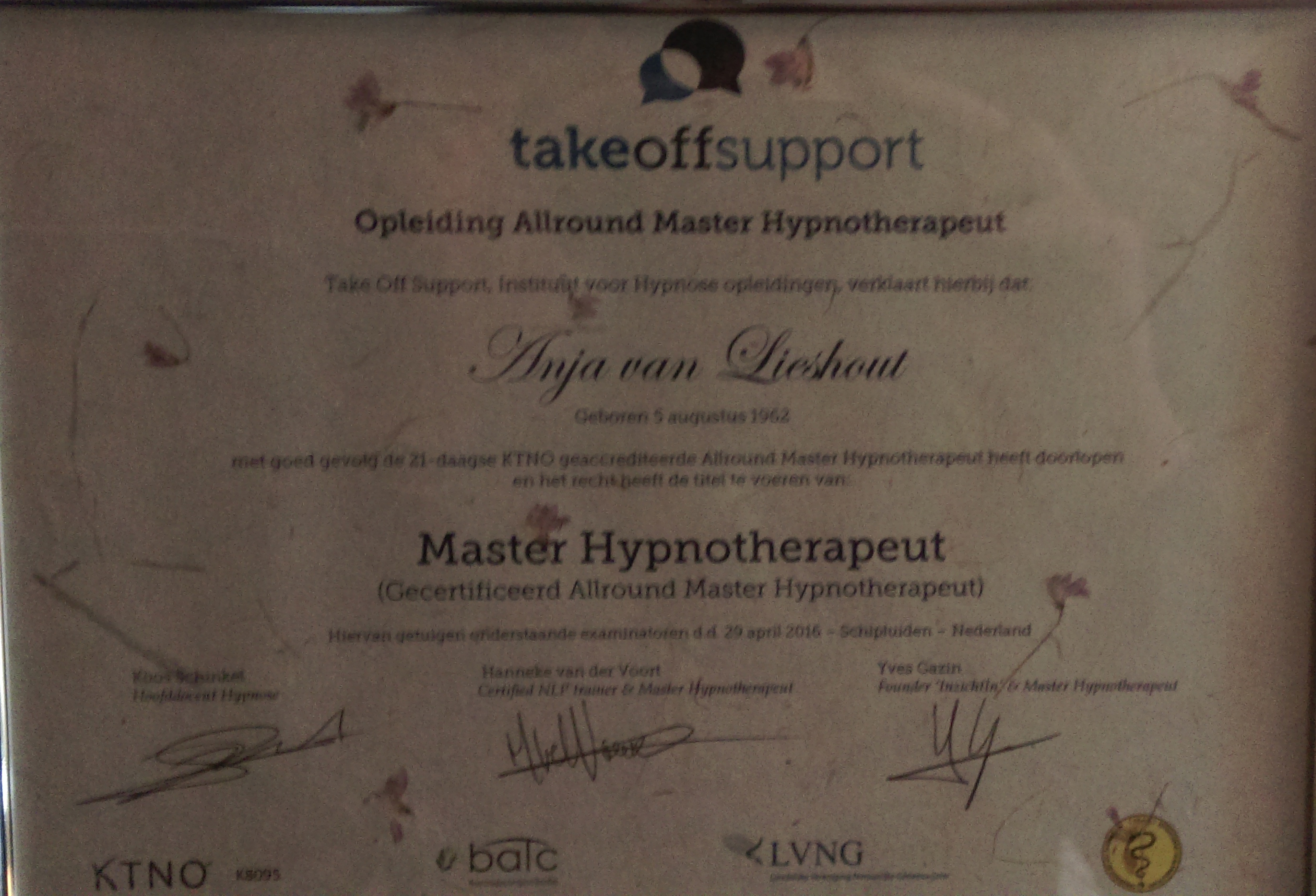 Master Hypnotherapeut