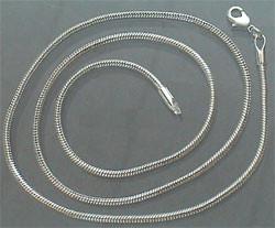 Halsketting metaal lang